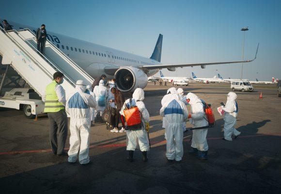 Об усилении санитарно-карантинного контроля на внутренних авиарейсах городов Нур-Султан и Алматы