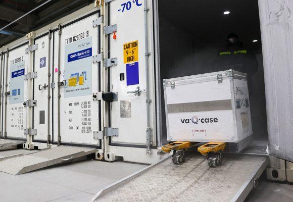 Транспортировка и хранение вакцины COVID-19